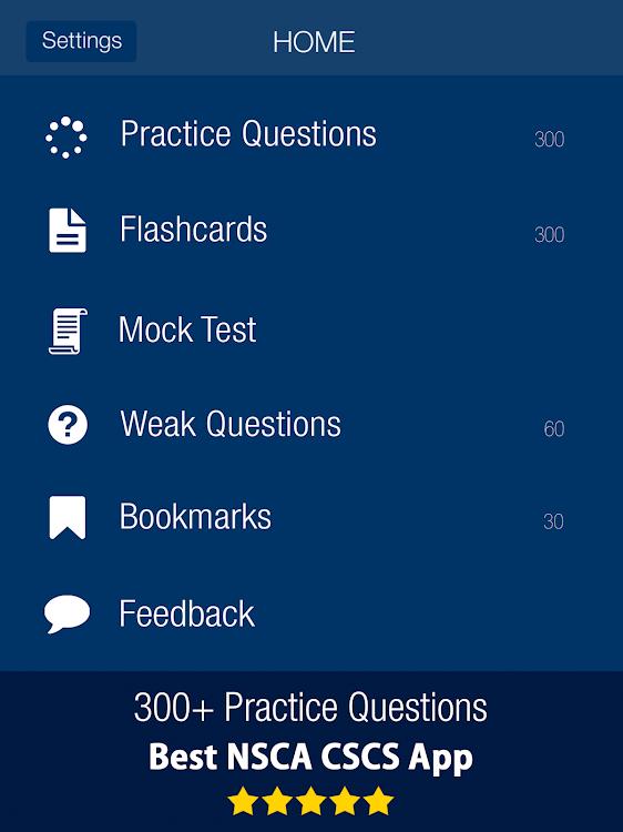 NSCA CSCS Practice Exam Prep 2019 – Free – (Android