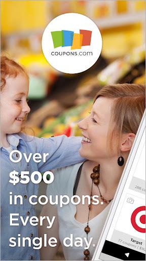 Coupons.com – Grocery Coupons & Cash Back Savings screenshot
