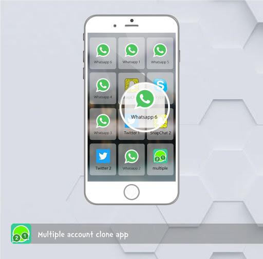 multiple account clone app 1.7.8 screenshots 1