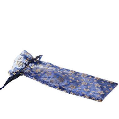 Organzapåse midnattsblå