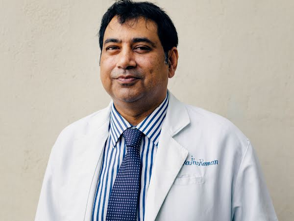 A photograph of Doctor Rajiv Raman