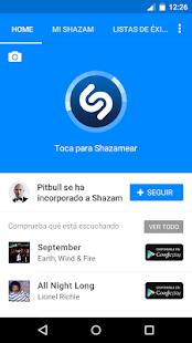 Shazam: miniatura de captura de pantalla