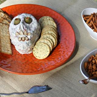 """A Creepy Halloween Dried Beef """"Skull"""""""