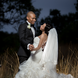 After Dark by Lood Goosen (LWG Photo) - Wedding Bride & Groom ( love, wedding photography, wedding photographers, wedding day, weddings, wedding, brides, wedding dress, couple, bride and groom, bride, groom, bride groom )