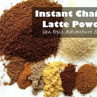 Instant Chai Tea Latte Powder