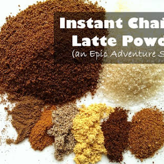 Instant Tea Powder Recipes.