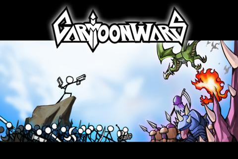 Cartoon Wars  captures d'écran 1