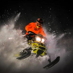 POW by Kenton Knutson - Sports & Fitness Motorsports ( snocross, ski-doo, winter, snowmobile, racing, snow,  )