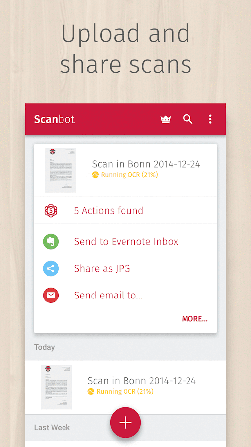 Scanbot - PDF Document Scanner- screenshot