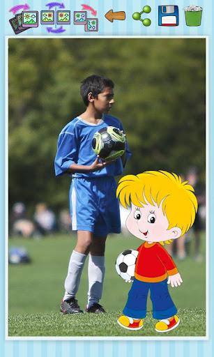 サッカーのステッカー