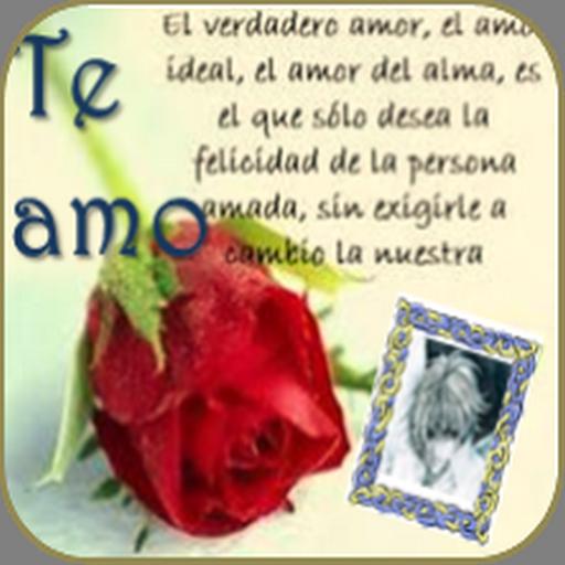Postales de Amor. Foto Selfie Icon