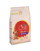 Purina ONE Small Dog Tørrfor Delicate 1,5 kg