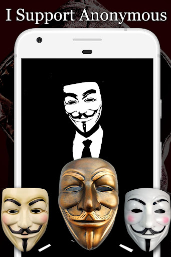 Anonymous Mask Photo Editor Free 8.8 screenshots 2