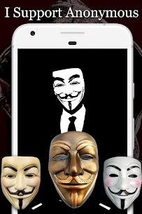 Anonymous Mask Photo Editor Free 2
