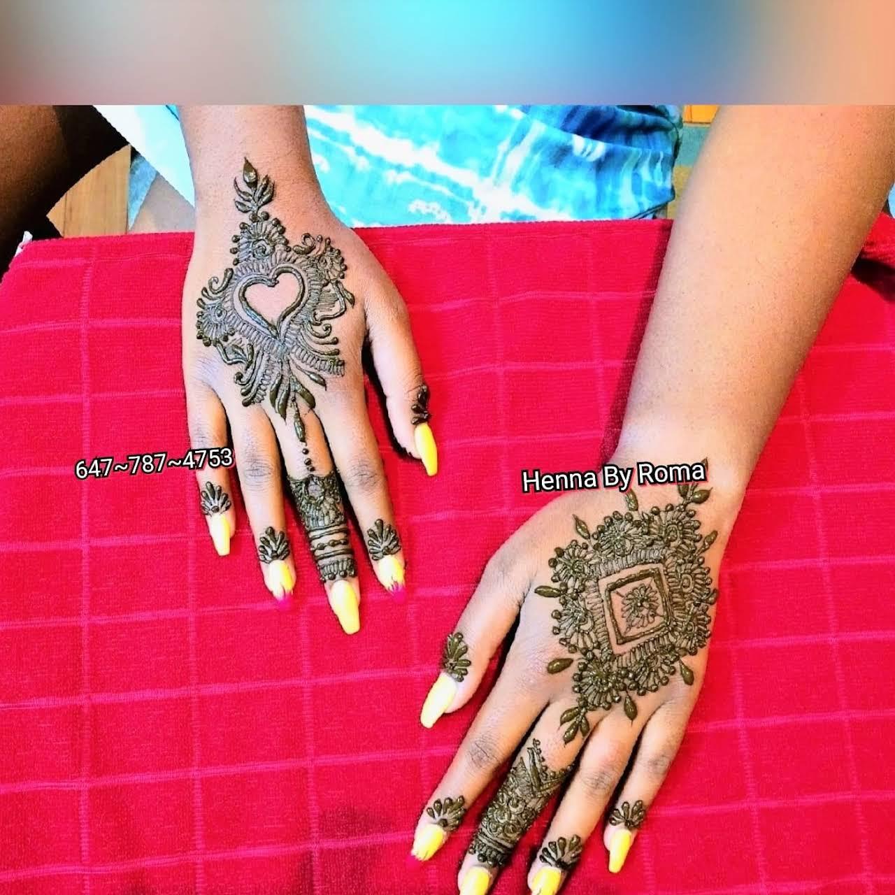 Henna Artist-Mehndi Artist-Henna Art By Roma - Artist in