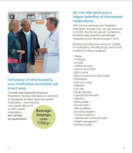 Photo: The Prescription Savings Club online pamphlet. More great information!