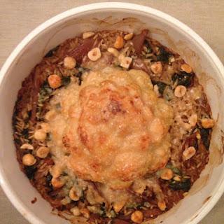 Whole Roasted Cauliflower Risotto