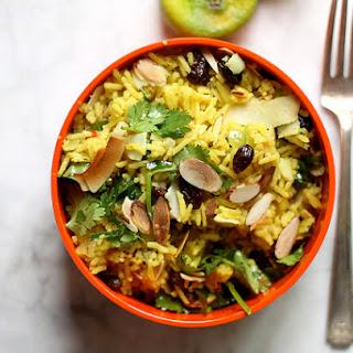 Curried Basmati Rice Salad.