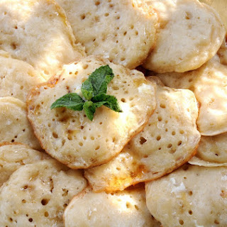 Moroccan Honeycomb Pancakes