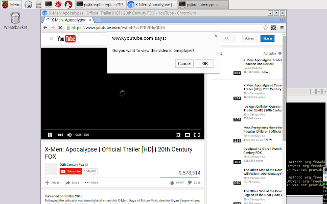 RPi-youtube