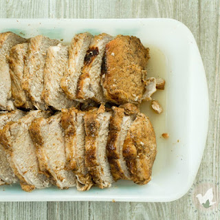 Pressure Cooker Honey Glazed Pork Loin.