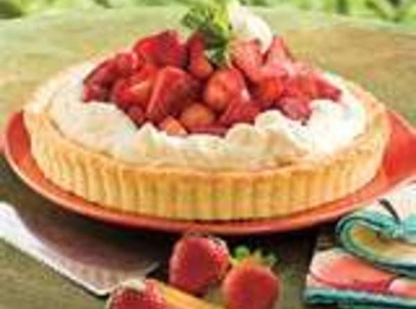 Strawberry-orange Shortcake Tart Recipe