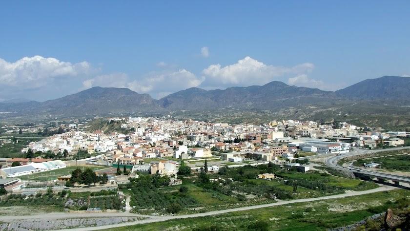 Vista general de Olula del Río.