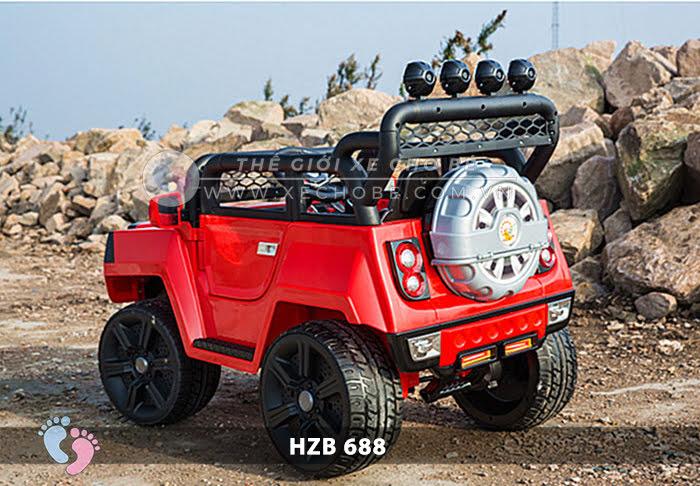 Xe ô tô điện cho bé Jeep HZB-688 10