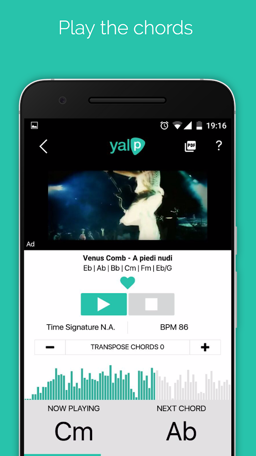 Yalp- screenshot