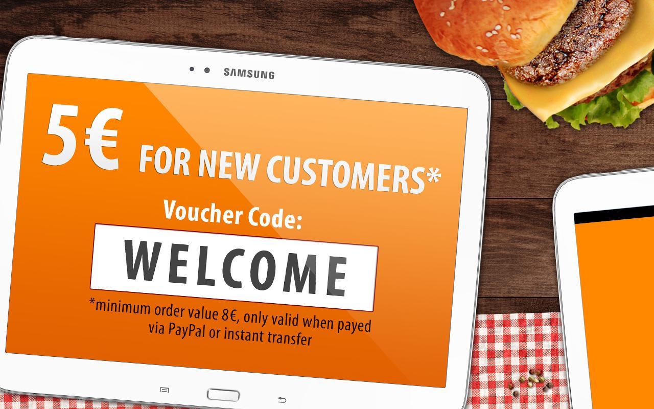 Lieferando.de: Order Food - screenshot