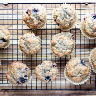 Banana Blueberry Spelt Muffins Recipe
