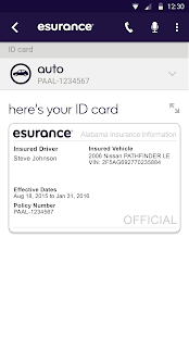 Esurance Mobile Screenshot 2