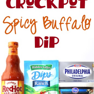 Crockpot Spicy Buffalo Dip Recipe!