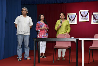 Photo: New TAPAS President Mrs Suchitra Chandran speaking.