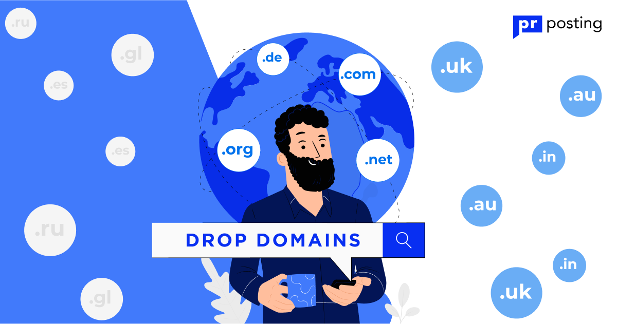 Drop-domain from A to Z: what it is and why, how, and where to buy it