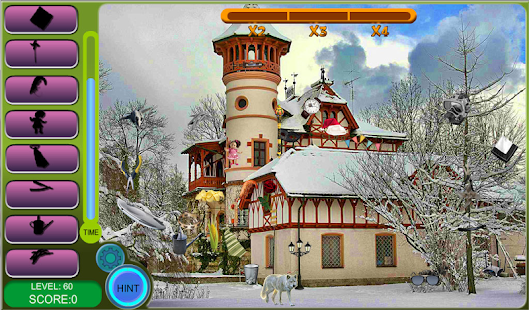 Hidden Obj. Winter Houses Free- screenshot thumbnail