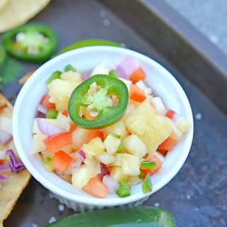 Pineapple Salsa.