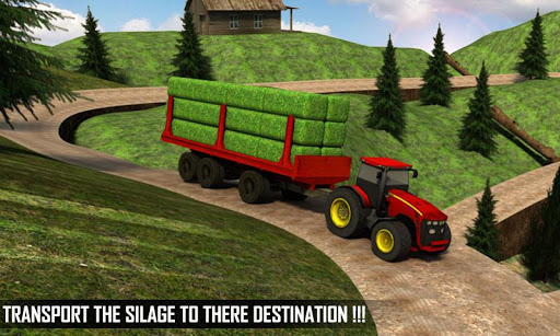 Silage Transporter Tractor  screenshots 2