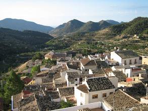 Photo: view from B&B Villa Pico in Sella - Alicante - Spain