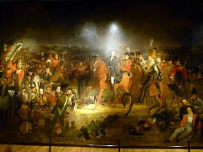 Photo: Napoleon's defeat at Waterloo