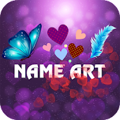 Heart Name Art: Focus Filter & Wallpaper Maker