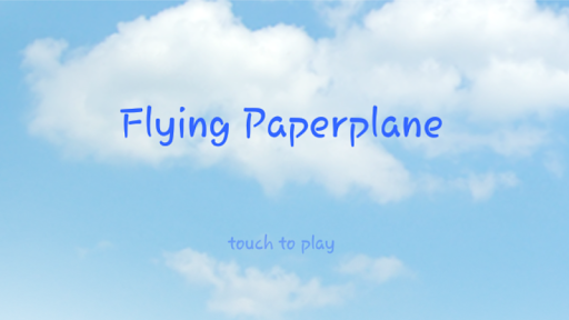 Flying Paperplane