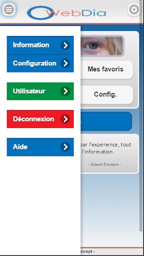 WebDia screenshot 2