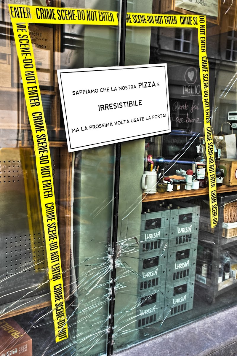 Taglio..Pizza per fetta, Pezza perfetta ! di D. Costantini
