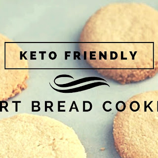 Keto Friendly Short Bread Cookies.