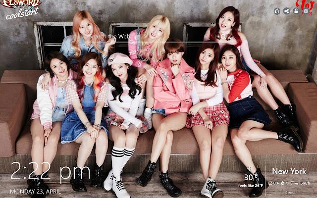 Twice HD Wallpapers K-Pop Music New Tab Theme