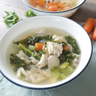 21 Day Fix Chicken Veggie Soup.