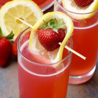 Strawberry Lemonade Beergaritas.