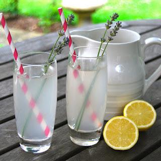 Lavender Vodka Lemonade.