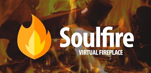 Virtual fireplace with beautiful graphics (Ultra HD, Full HD)
